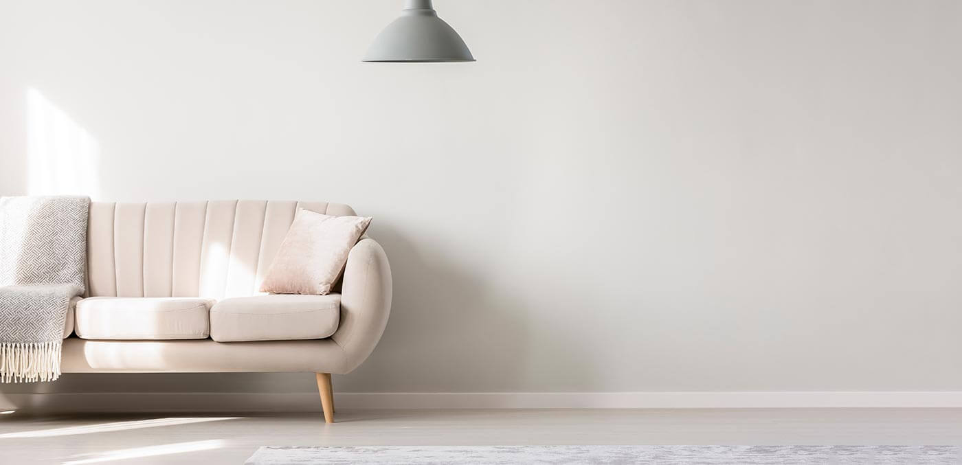 Refresh living spaces with a coat of paint