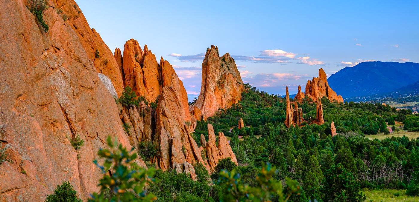 The 'Kissing Camels' of Colorado Springs