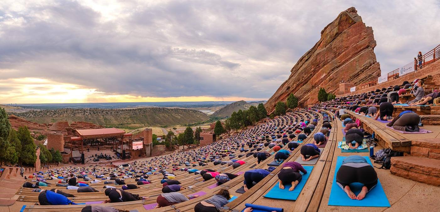 Yoga at Red Rock Amphitheatre