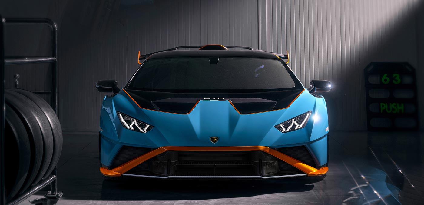 In pictures: the new Lamborghini Huracan STO performace car