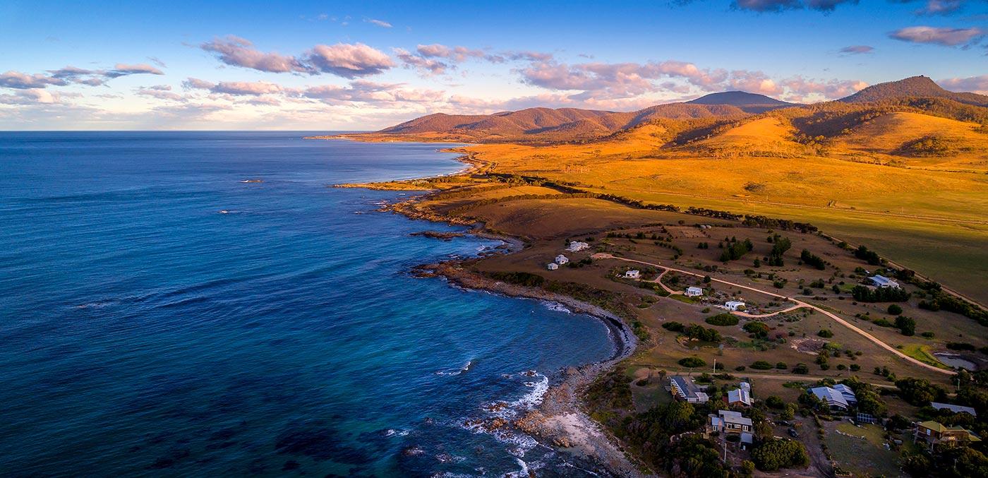 Aerial view of The Ocean Retreat
