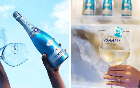 Champagne Pommery Blue Sky NV