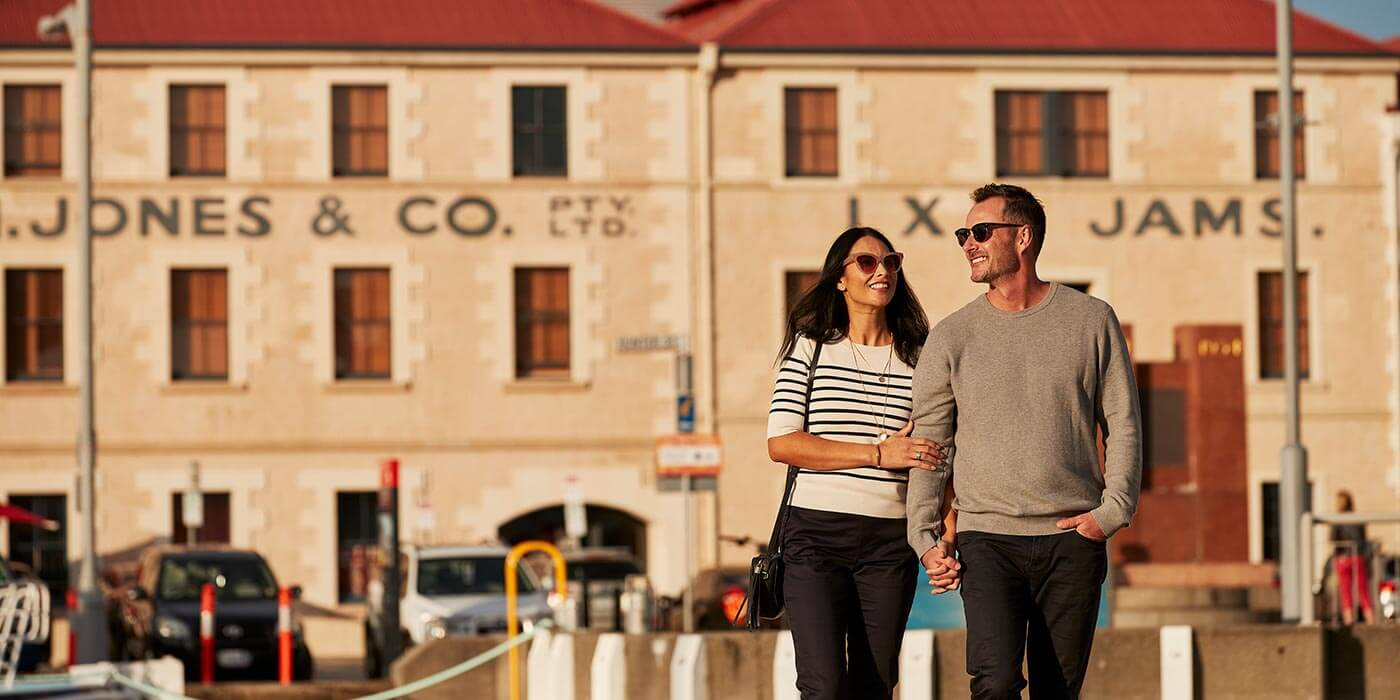 Couple in Hobart