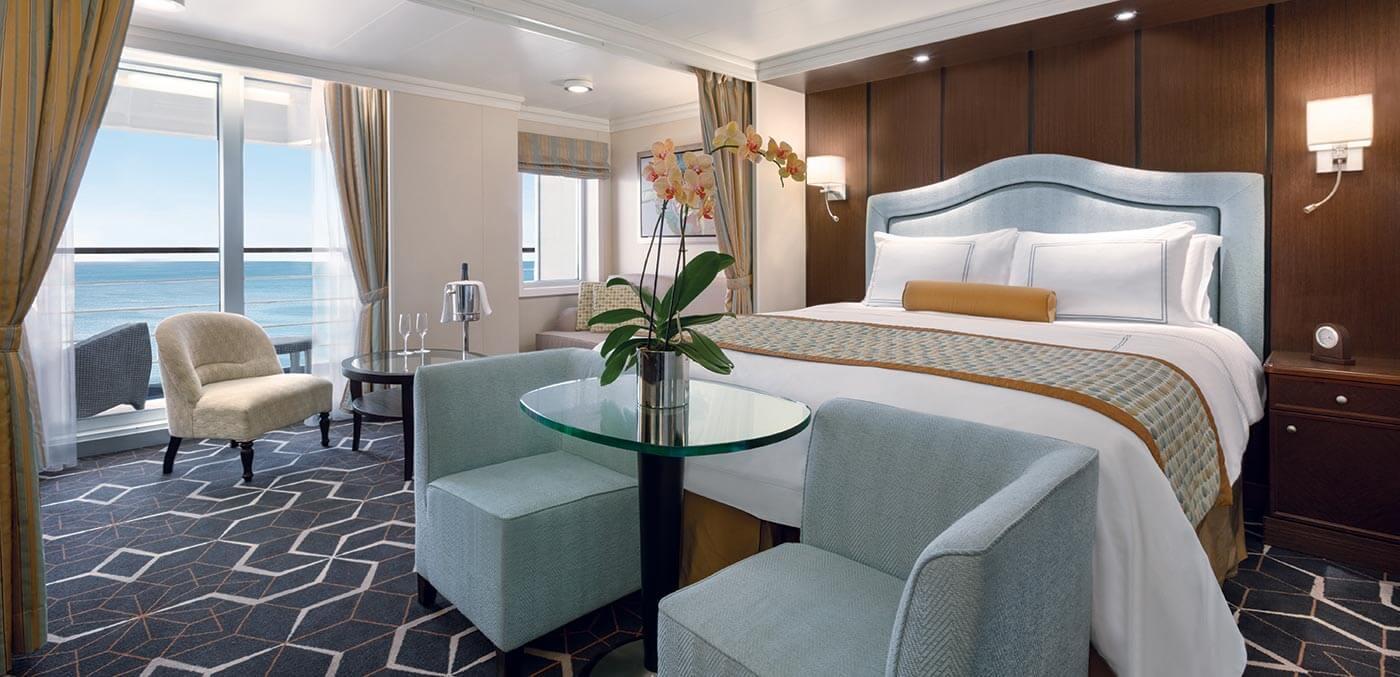 Penthouse Suite on board Oceania Riviera