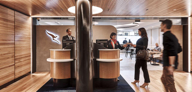 Qantas status lounge frequent flyers