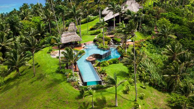Laucala Private Island Fiji Luxury resort stay