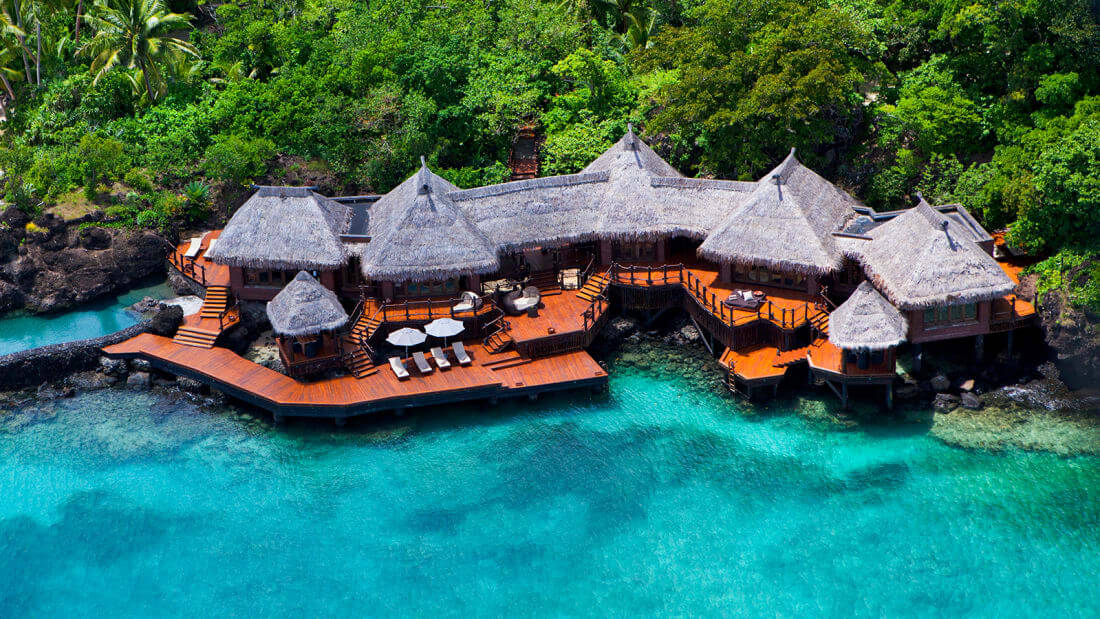 Laucala Private Island Fiji Luxury resort