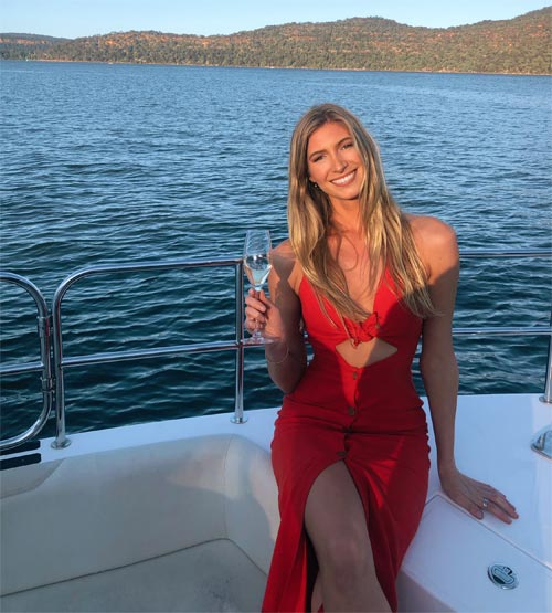 Nicola McClean sunset sailing