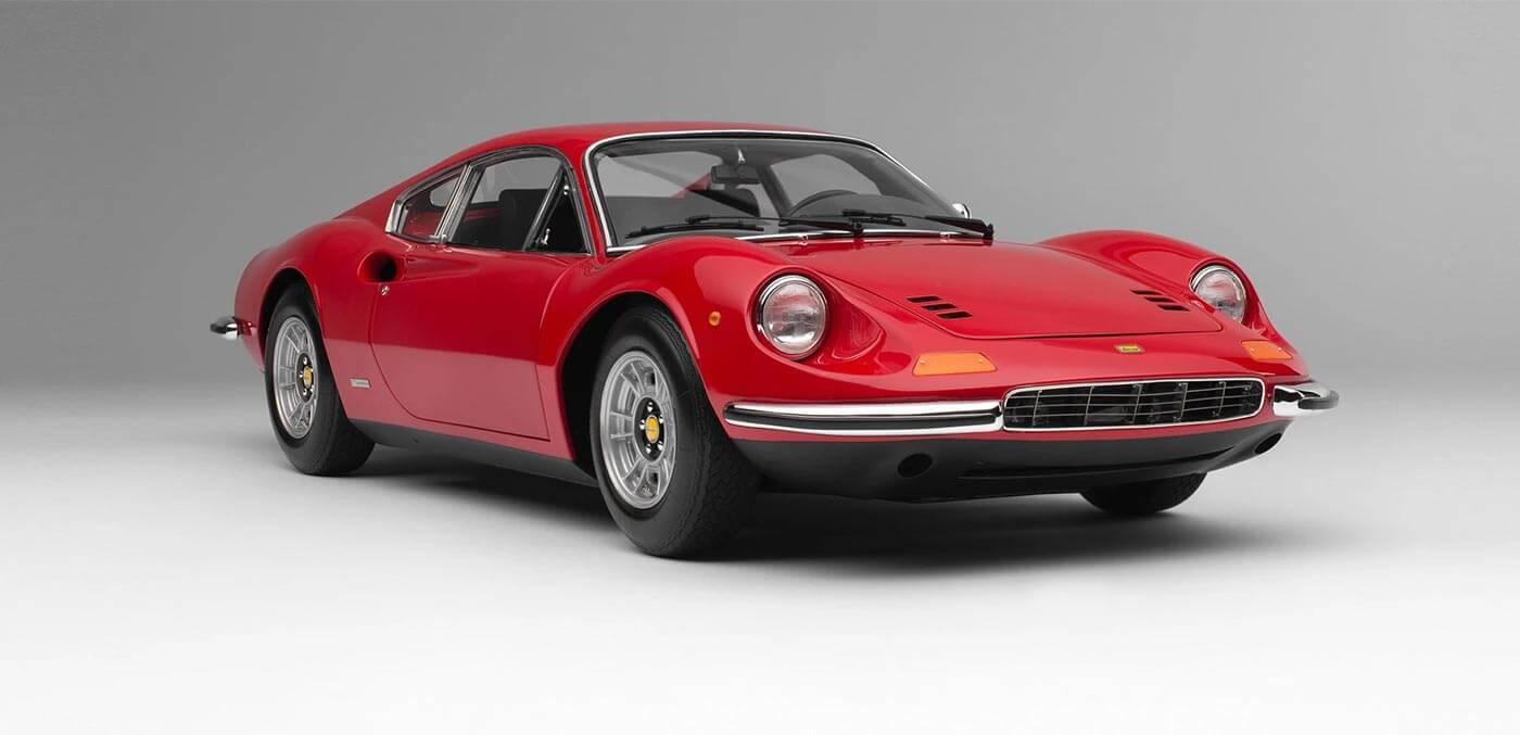 Ferrari Dino 246 GT (1969) 18 Model Car by Amalgam Collection