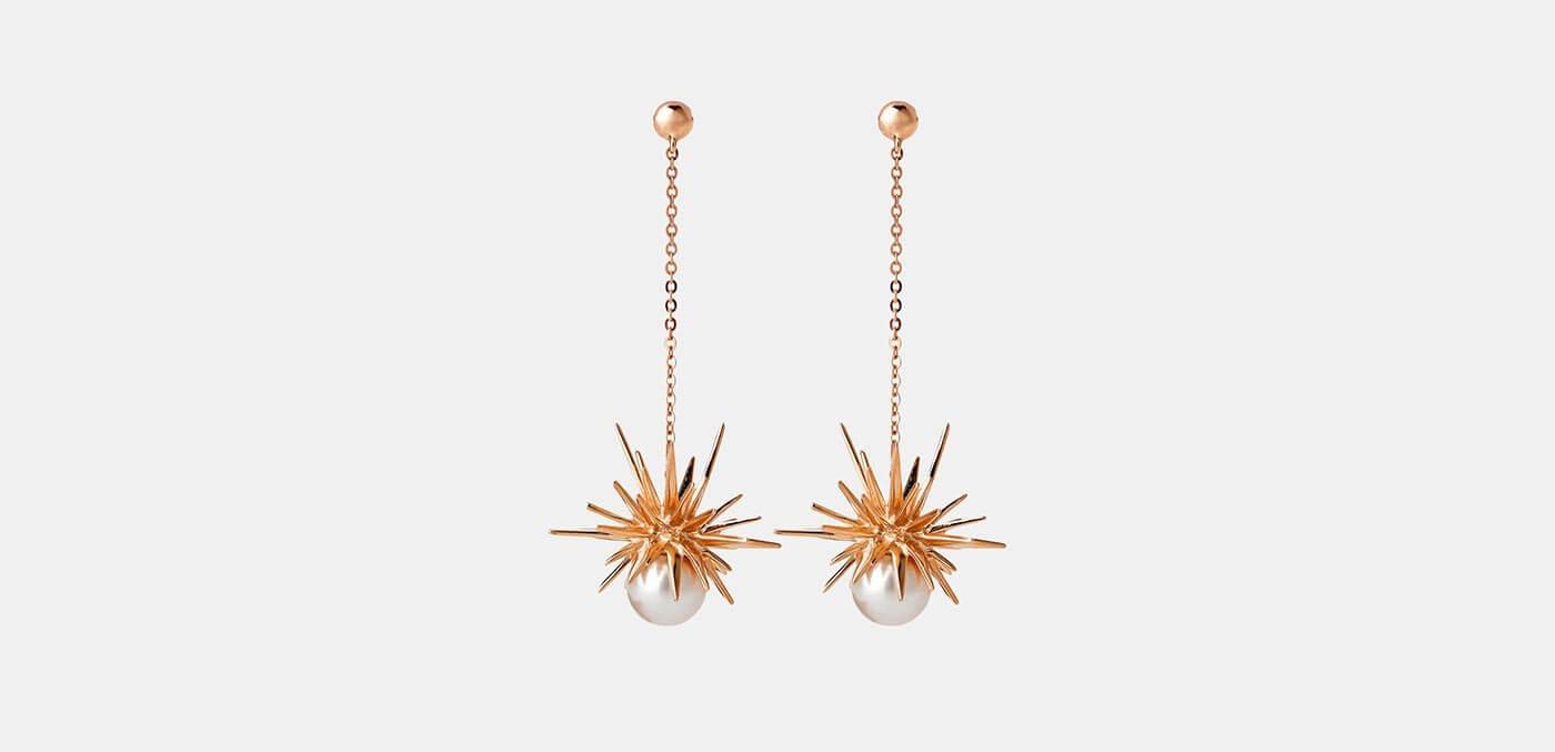 Forbidden Drop Earrings by Karen Walker
