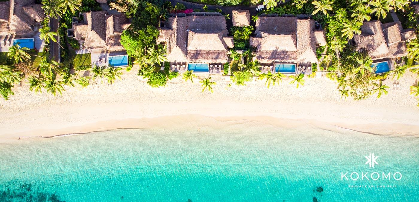 A private island retreat at Kokomo Private Island Fiji