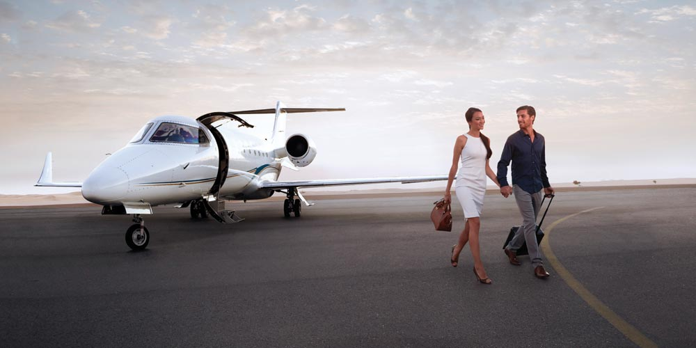Exclusive charters with ExecuJet