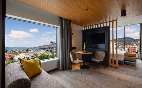 Movenpick Hotel Hobart guestroom