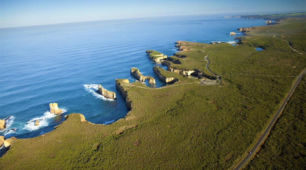 The Twelve Apostles by private plane