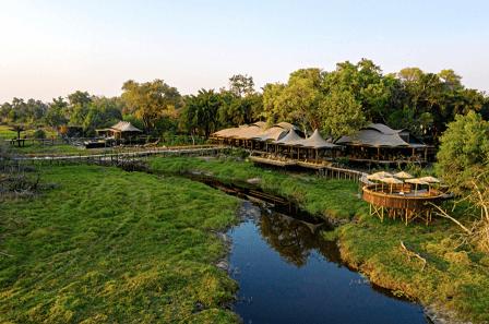 Xigera Safari Lodge Botswana.