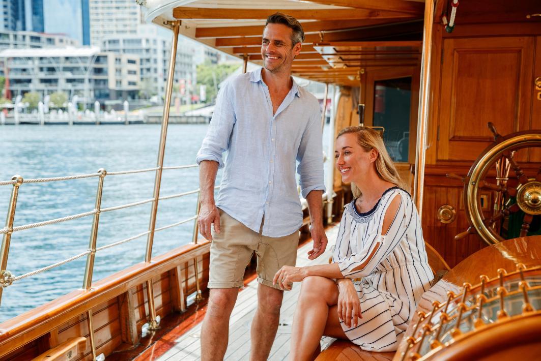luxury harbour cruise