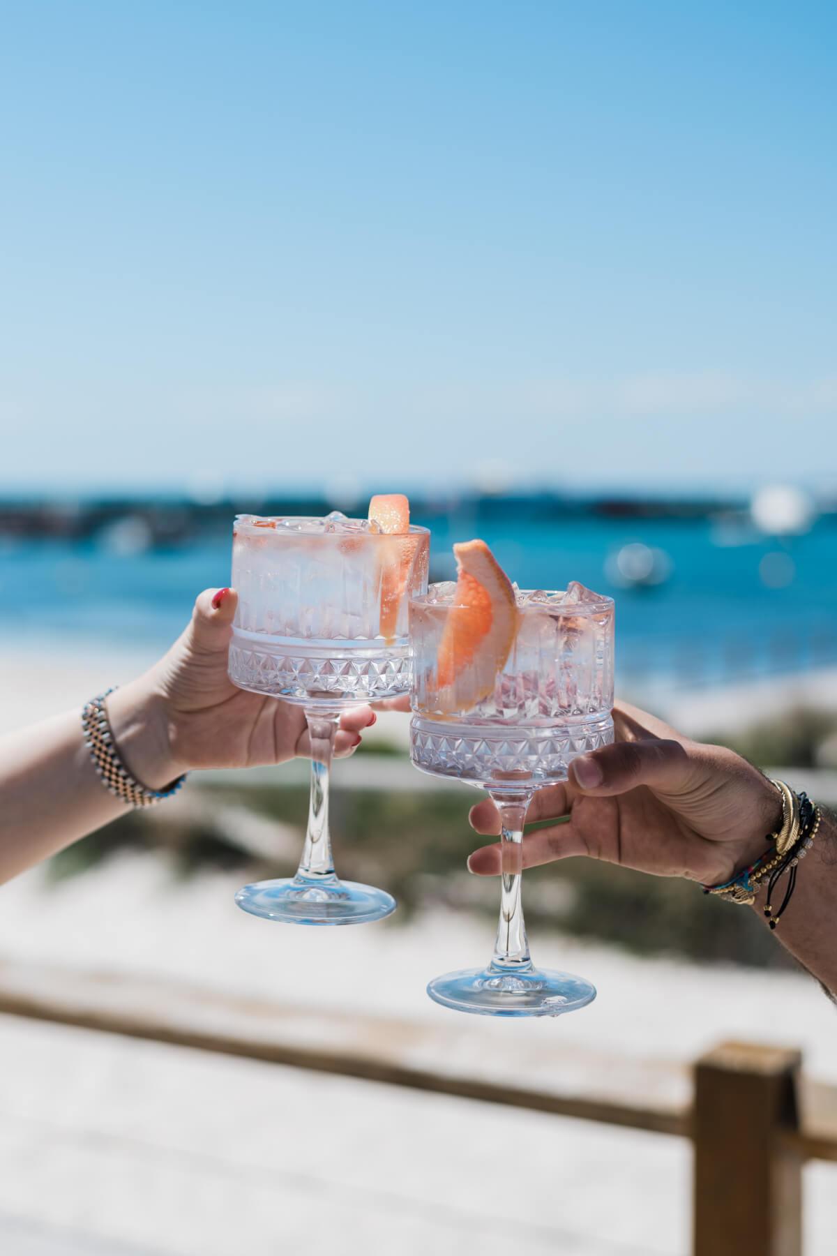 Cocktails at Samphire