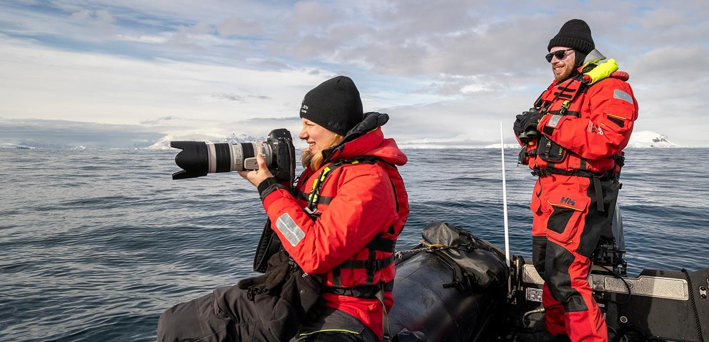 Getting the perfect shot on a Seabourn expedition cruise