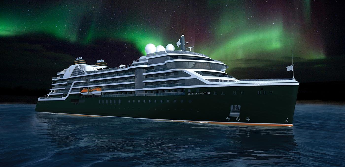 Seabourn Venture at sea