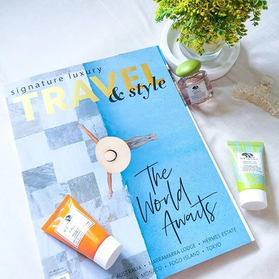 carly.liang Signature Luxury Travel & Style volume 38 flatlay