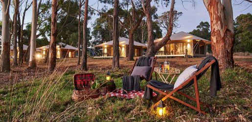 Glamping at Olio Bella in the Margaret River