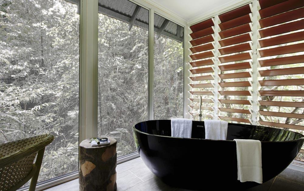Daintree Ecolodge bathtub