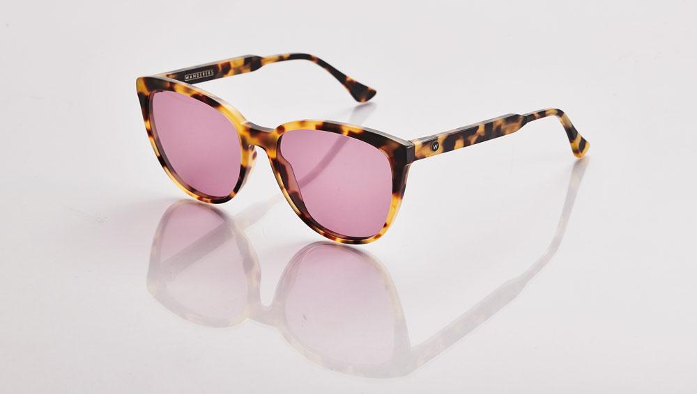 'Positano' sunglasses in brown tortoise