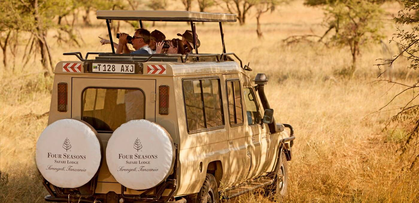 A once in a life time major safari trip
