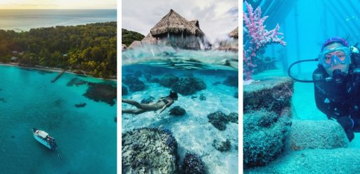 Luxury Resorts save the oceans
