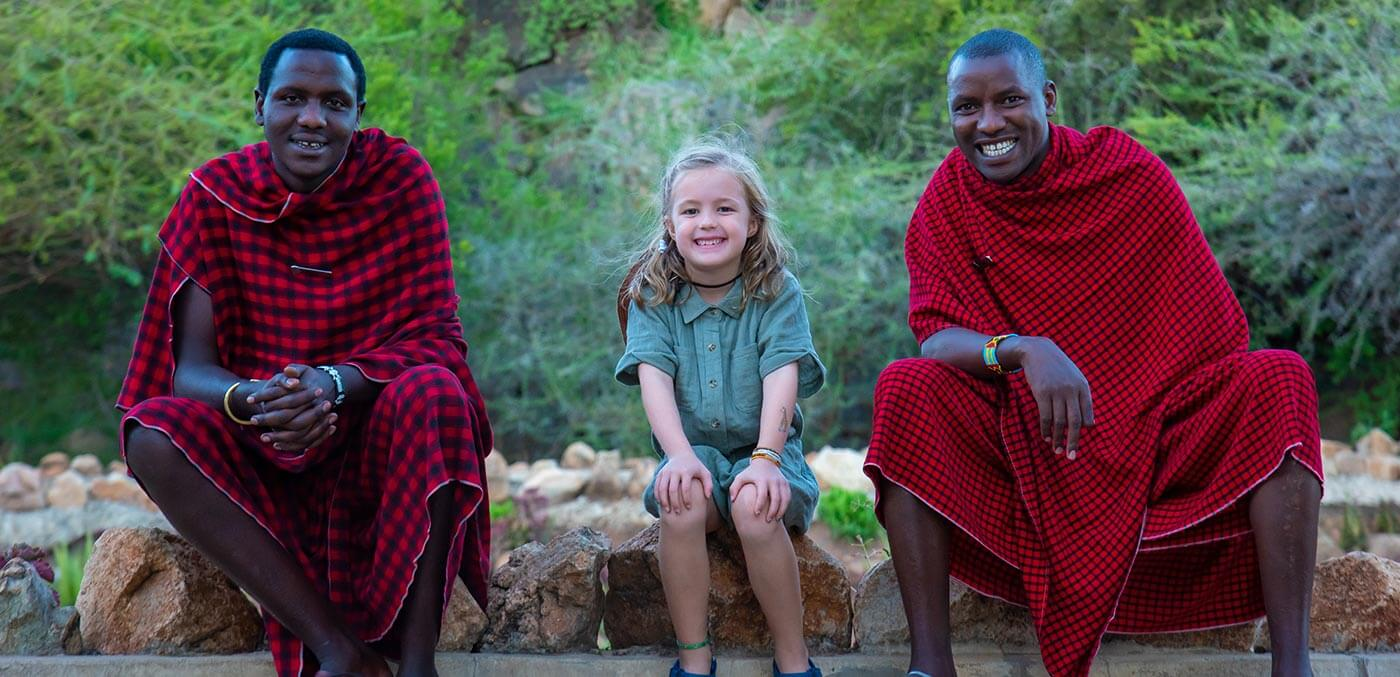 Our daughter loved every minute of Tanzania