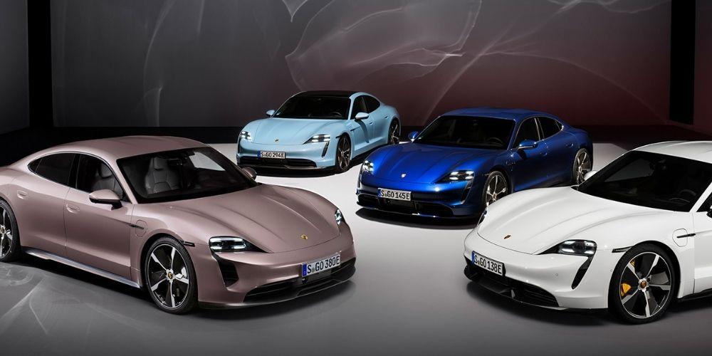 Porsche Taycan drive experience
