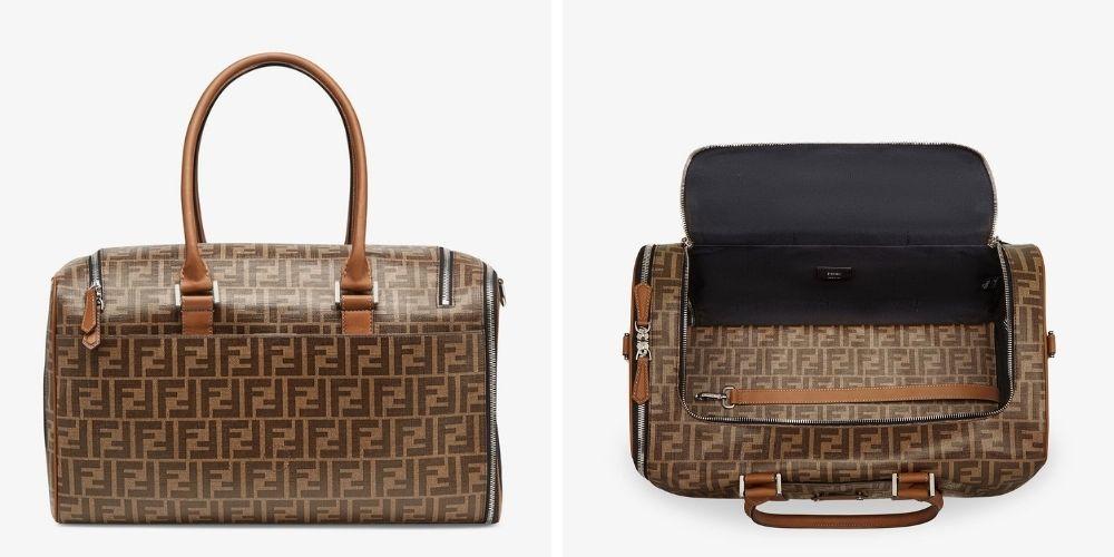 Fendi Pet travel carrier bag