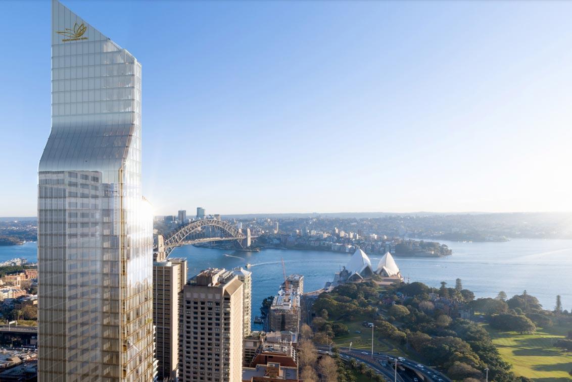 six star hotel plans Sydney
