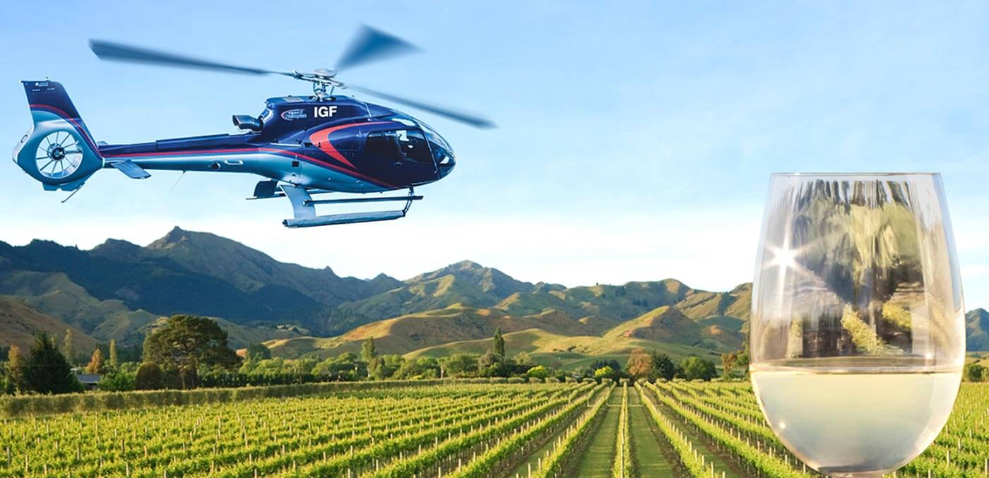 Winery tour with GCH Aviation