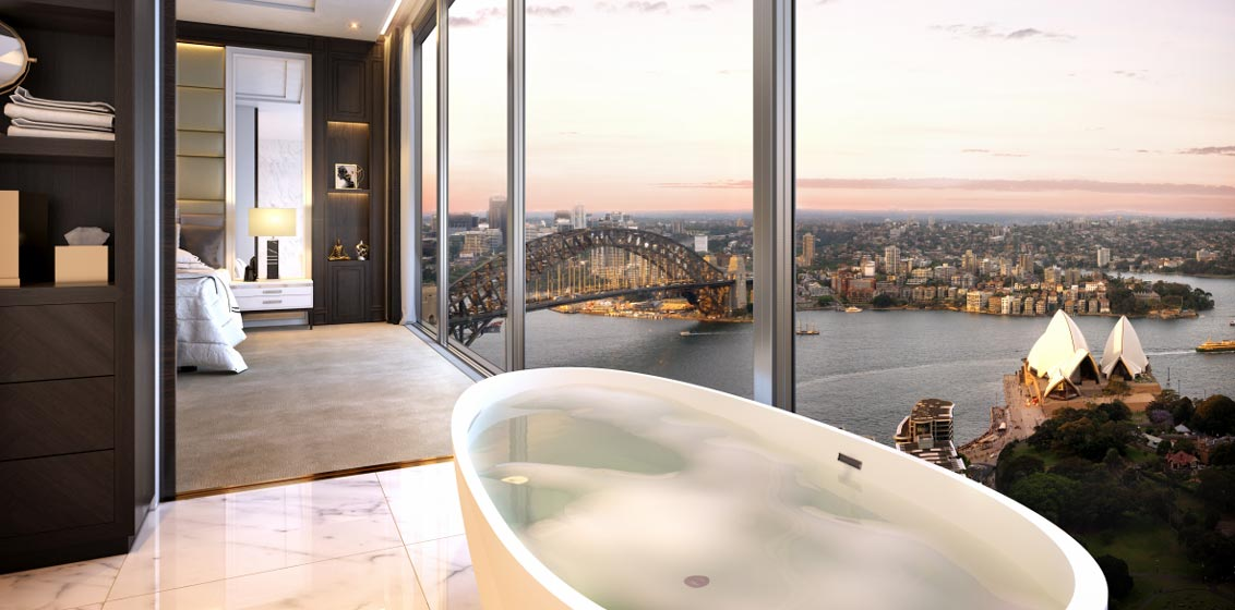 Sydney six star hotel