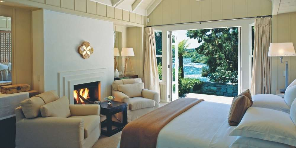 New Zealand Luxury Lodges private jet tour - Huka Lodge © Supplied by Captain's Choice