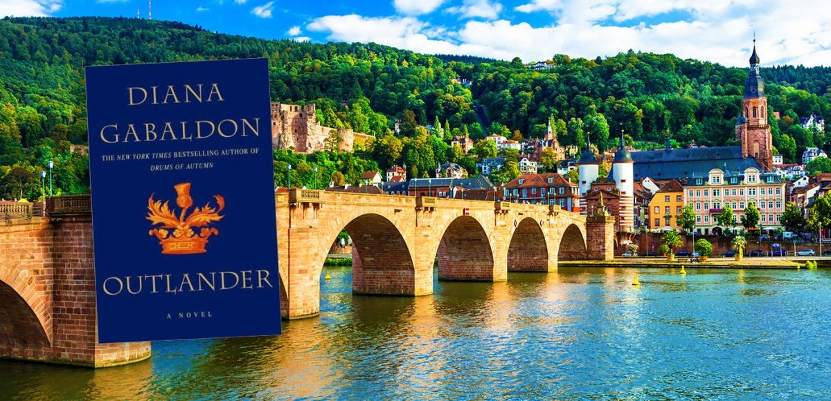 Outlander author cruise : Karl Theodor bridge, Germany