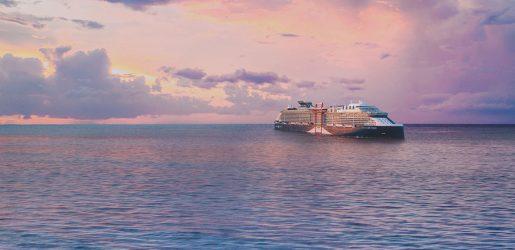 Celebrity Cruises new ship exterior © Celebrity Cruises