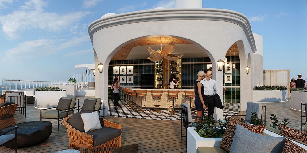 Celebrity Beyond Sunset Bar © Celebrity Cruises
