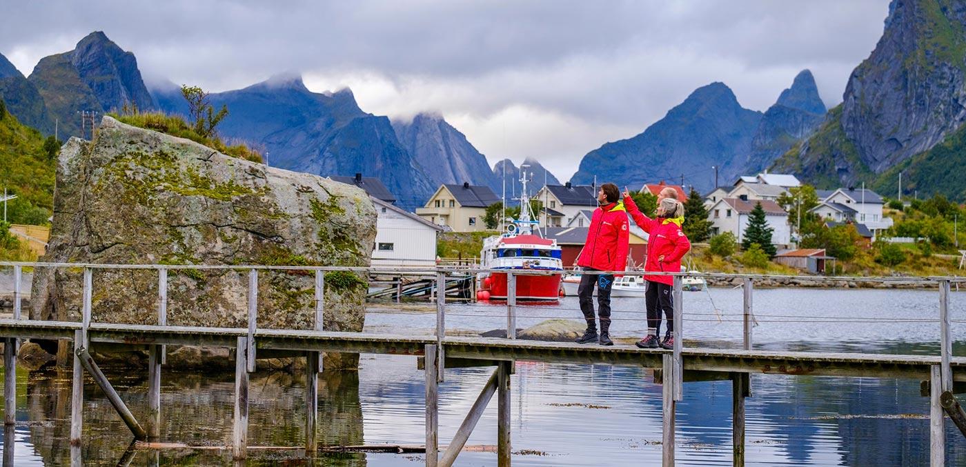 Exploring Svolvær, Norway