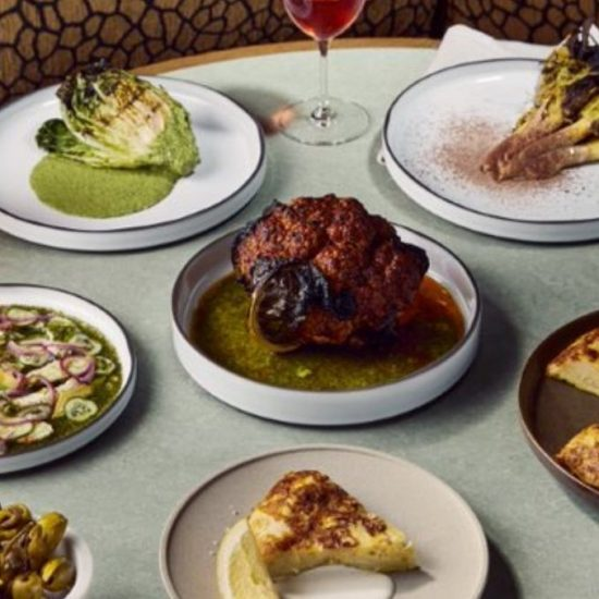 An assortment of meals served at Lona Misa