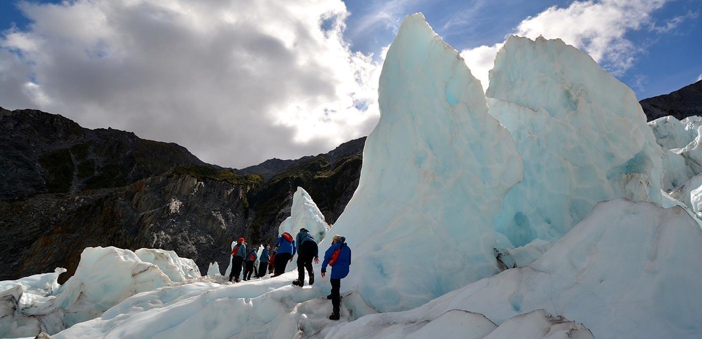 Heli hike at Franz Josef Glacier