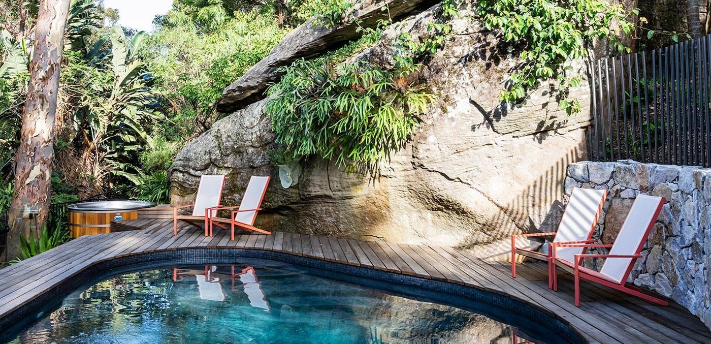 Pool at Crane Lodge