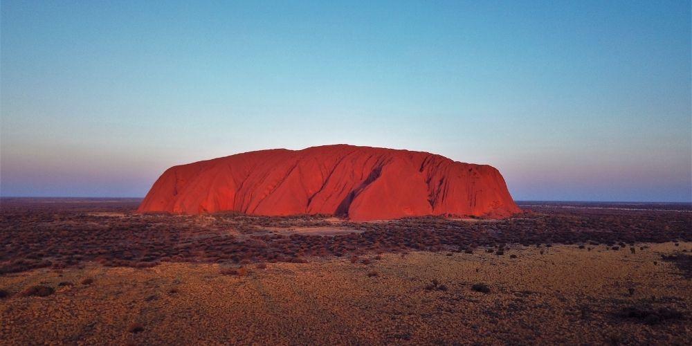 Alice Springs to Ayres Rock Airport flights