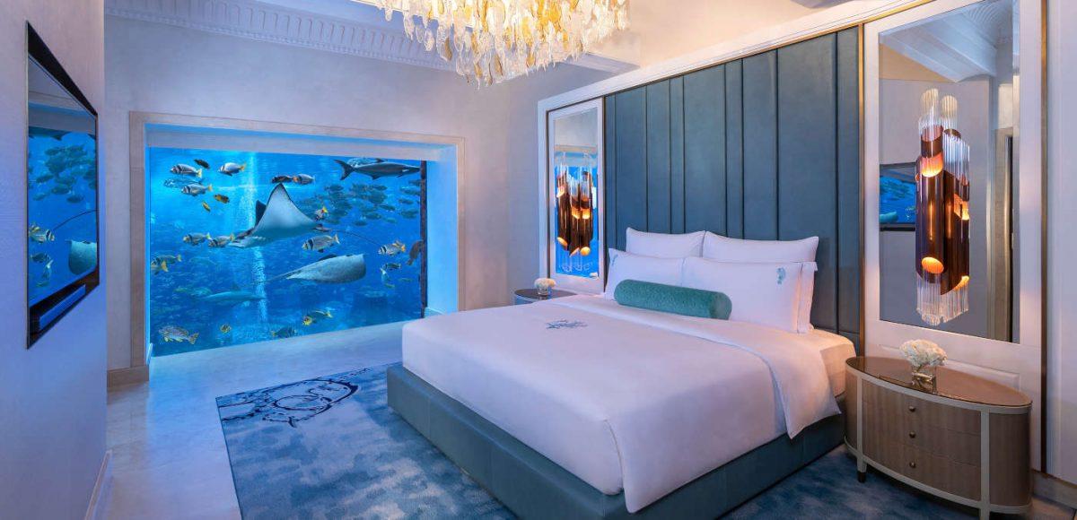 underwater hotel suite Atlantis Dubai