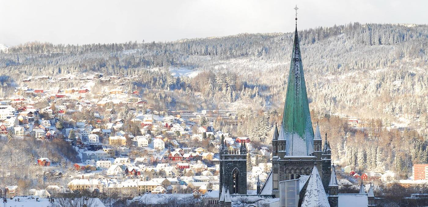 Trondheim's Nidaros, Hurtigruten Northern Lights cruise