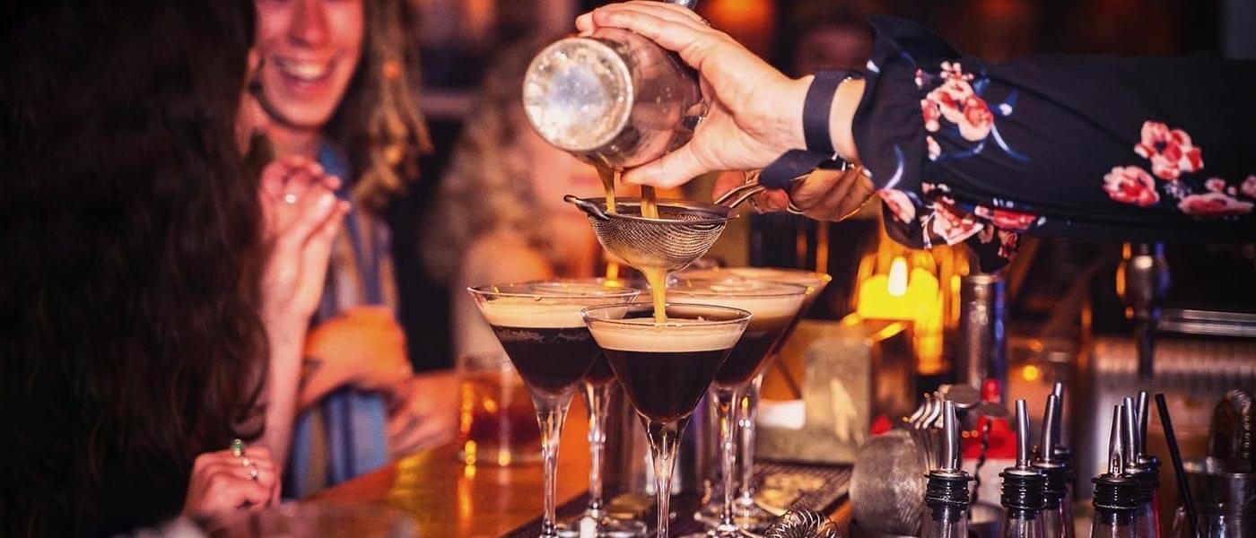 Espresso Martini's at Bunker Bar