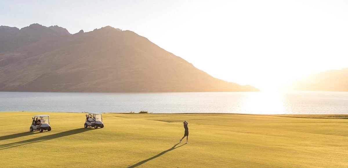 Golfing backdrops don't get much more spectacular than at Jack's Point