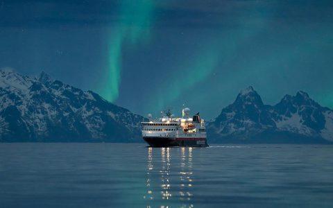 Northern Lights in Norway, Hurtigruten Northern Lights