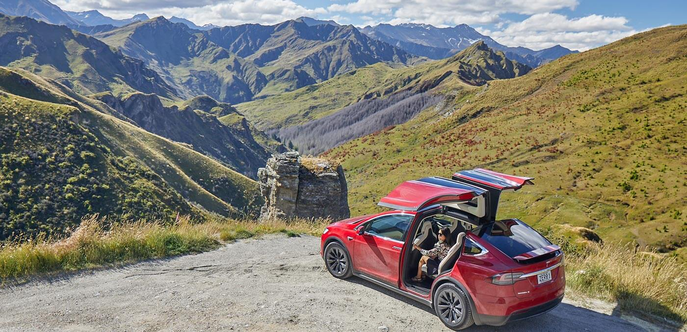 Queenstown adventure activities - Private Tesla tour through Skippers Canyon with Nomad Safaris